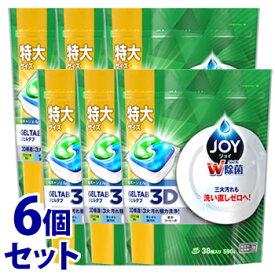 【特売】 《セット販売》 P&G ジョイ ジェルタブ 3D (38個入)×6個セット 食洗機用洗剤 【P&G】