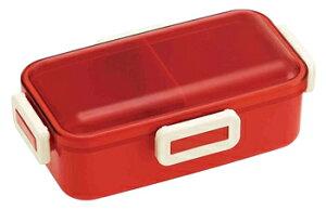 スケーター ふわっと弁当箱 レトロフレンチ オレンジレッド PFLB6 (1個) ランチボックス