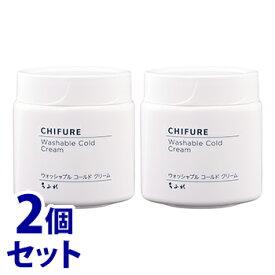 《セット販売》 ちふれ化粧品 ウォッシャブル コールド クリーム (300g)×2個セット クレンジング マッサージ