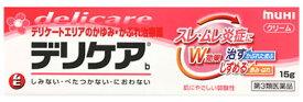 【第3類医薬品】池田模範堂 デリケアb (15g) クリーム 鎮痒消炎剤