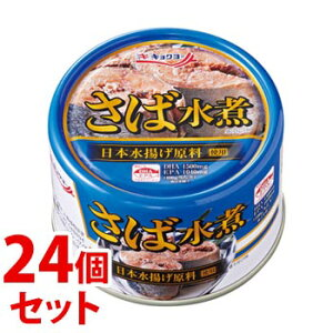 《セット販売》 キョクヨー 極洋 さば水煮 (160g)×24個セット 缶詰 サバ缶 ※軽減税率対象商品
