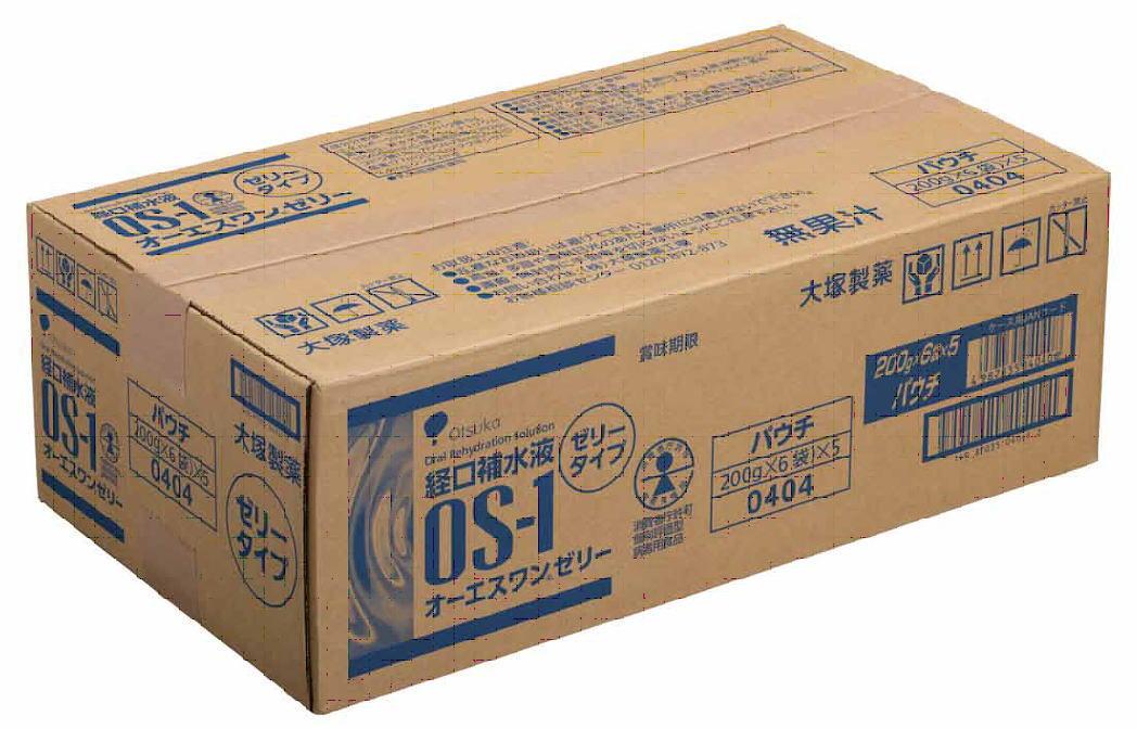 ☆在庫分は即日発送!大塚製薬 経口補水液 OS-1ゼリー(オーエスワンゼリー) 200g×30袋セット(6袋×5箱)