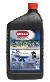 アマリー プロ2サイクル AMALIE PRO TWO-CYCLE 2スト用エンジンオイル 鉱物油 分離混合両用 20W-20 ベスパ、ランブレッタ、ラビット等の鉄スク バギー、スノーモービル、ジェットスキー、船外機にも 1QT(946ml)