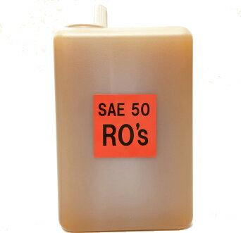 RO'sオイル 1L ローズオイル サイドバルブ・ナックル・パンから、ショベル・エボ・ツインカムまで。ハーレーダビッドソン、旧英車等の空冷車にも。 エンジンオイル。