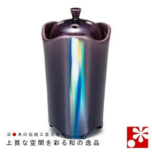 九谷焼 5寸 香炉 釉彩 博峰窯( 陶器 おしゃれ アンティーク )