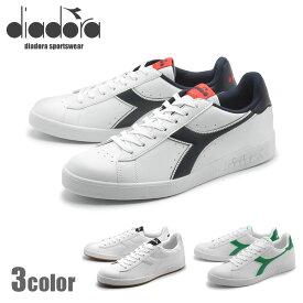送料無料 ディアドラ diadora メンズ レディース スニーカー DIADORA GAME P ホワイト グリーン 男性 女性 レザー 靴 カジュアル シューズ (DIADORA 101.160281 01 C0657 C1931 C6487)