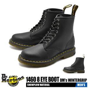 【50周年★記念セール開催】 ドクターマーチン 8ホール ブーツ メンズ 1460 ワーク スノー ウィンター レザー 革 ブラック 黒 Dr.Martens 1460 8 EYE BOOT R24039001