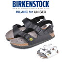 ビルケンシュトック BIRKENSTOCK ミラノ [普通幅タイプ] サンダル メンズ レディース ユニセックス 男女兼用 ブラック…