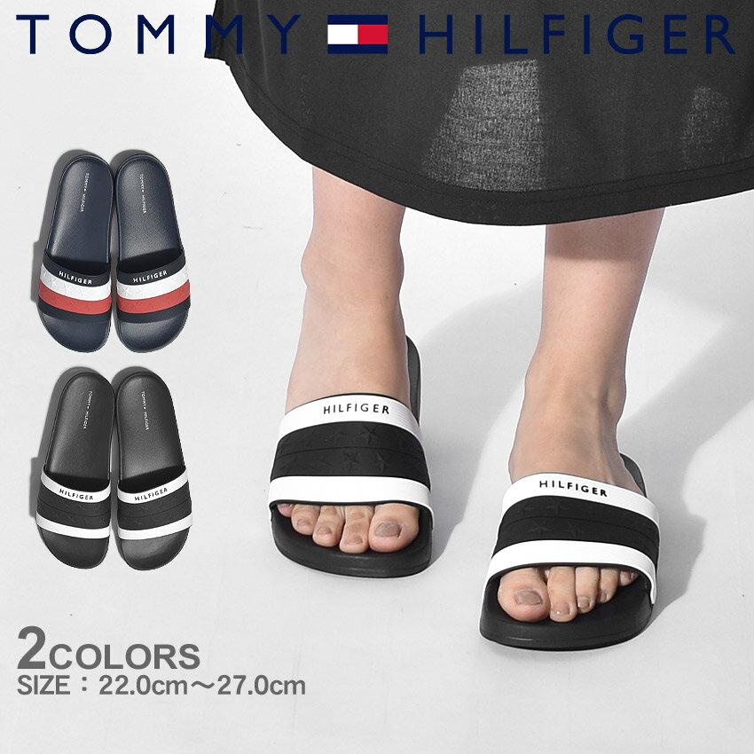 トミーヒルフィガー TOMMY HILFIGER TWドルチェ シャワーサンダル スポーツ スポサン ビーチ 海 川 ブラック ネイビー ホワイト レッド 黒 青 白 赤 TWDULCE メンズ レディース