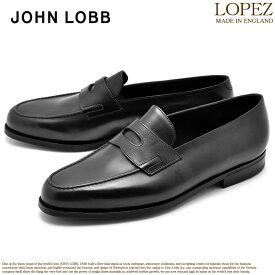 ジョンロブ JOHN LOBB ロペス ローファー メンズ レザー 革 シューズ 紳士 靴 ブラック 黒 LOPEZ 309031L 1R
