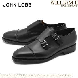 ジョンロブ JOHN LOBB ウィリアム 2 ドレスシューズ ブラック 黒 メンズ フォーマル カジュアル ビジネス オフィス スーツ レザー 紳士靴 短靴 定番 革靴 WILLIAM II 232032L 送料無料