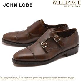 ジョンロブ JOHN LOBB ウィリアム 2 ドレスシューズ ブラウン メンズ フォーマル カジュアル ビジネス オフィス スーツ レザー 紳士靴 短靴 定番 革靴 WILLIAM II 232192L 送料無料