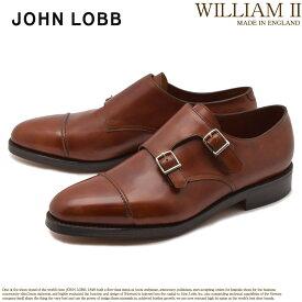 ジョンロブ JOHN LOBB ウィリアム 2 ドレスシューズ メンズ ブラウン フォーマル カジュアル ビジネス オフィス スーツ レザー 紳士靴 短靴 定番 革靴 WILLIAM II 232162L 送料無料