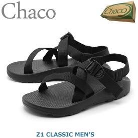 【お盆セール中】 チャコ サンダル メンズ Z1 ブラック 黒 クラシック アウトドア スポーツサンダル スポサン アスレジャー カジュアル CHACO Z1 CLASSIC J105375