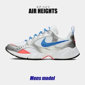 【先行サマーSALE開催】 ナイキ スニーカー メンズ エアハイツ ホワイト 白 靴 シューズ カジュアル スポーツ ストリート アウトドア レトロ リバイバル 運動 靴 レジャー NIKE AIR HEIGHTS AT4522