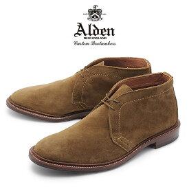 【最大92%OFF!大決算】オールデン ALDEN チャッカーブーツ アンラインド メンズ シューズ トラディショナル ビジネス フォーマル スエード 革靴 紳士靴 ブラウン 茶 UNLINED CHUKKA BOOT 1493 送料無料