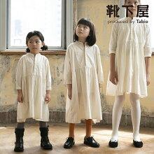 【靴下屋】キッズ80デニールスポンディッシュタイツ105cm(95〜115cm)