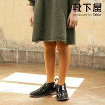 【靴下屋】キッズ80デニールスポンディッシュタイツ135cm(125〜145cm)