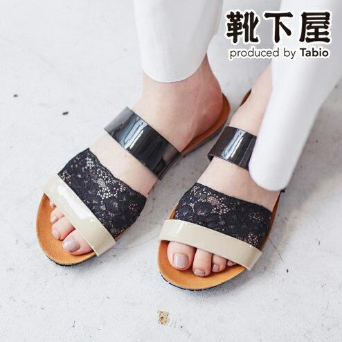 【あす楽】【Tabio】 クッション付レーストングタイプ / 靴下屋 靴下 タビオ くつ下 レディース フットカバー トング靴下 トングソックス サンダルソックス サンダル用 日本製