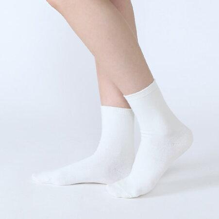 【靴下屋】コットンブレンド無地ソックス