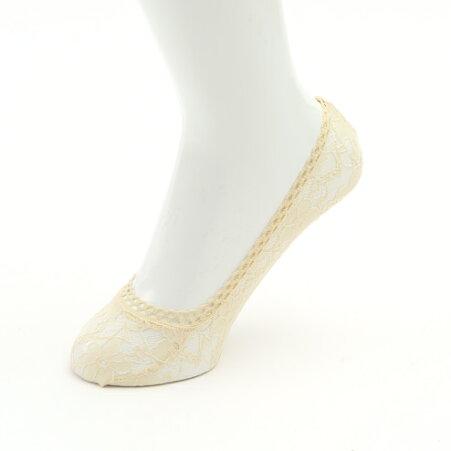 【靴下屋】キッズ縫製花柄レースカバーソックス19〜21cm/靴下タビオTabioくつ下カバーフットカバーキッズ子供子供用靴下日本製
