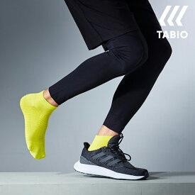 【あす楽】【TABIO SPORTS】 レーシングラン 25〜27cm / 靴下屋 靴下 タビオ タビオスポーツ Tabio くつ下 ショート メンズ 日本製