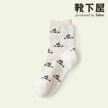 【MightySoxer】【クーポンで3足1,100円】キッズ新幹線&パトカーソックス/靴下屋靴下タビオマイティソクサーくつ下キッズ日本製