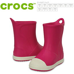 kurokkusubampuittobutsukizzu crocs bump it boot kids[203515-6MI]粉紅小孩雷恩長筒靴●
