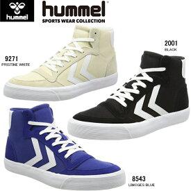 【30%OFF】ヒュンメル スニーカー メンズ レディース ハイカット hummel STADIL RMX HIGH HM64407 キャンバス ナイロン スエード かわいい おしゃれ カジュアル シューズ メンズ靴 レディース靴 22.5 23.0 24.0 25.0 25.5 26.5 27.0 28.0