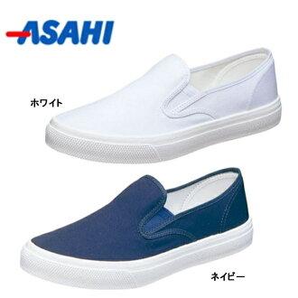 朝日鞋asahi甲板20EC女士人运动鞋甲板鞋鞋工作鞋轻量防水日本制造2E○