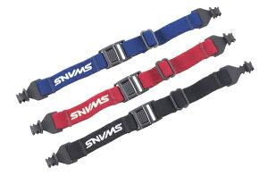 スワンズ SWANS サングラス A−63 スポーツバンド YKO-A63 (041)BK メガネ用 ストラップ ●