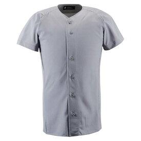 デサント(DESCENTE)ネイキッドスーツ(フルオープン)(ds-db1210-kslv) メンズ ユニフォーム 野球 ソフトボール 練習用 トップス 半袖 大きいサイズ 小さいサイズ ドライ 通気性