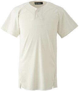 デサント(DESCENTE)ネイキッドスーツ(2ボタン)(ds-db1211-sivo) メンズ ユニフォーム 野球 ソフトボール 練習用 トップス 半袖 大きいサイズ 小さいサイズ ドライ 通気性