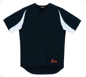 デサント(DESCENTE)ユニフォームシャツカラーコンビネーションブラック×Sホワイト(ds-db43m-bksw) メンズ レディース 野球 ソフトボール 練習用 シャツ 半袖 大きいサイズ 小さいサイズ ドライ
