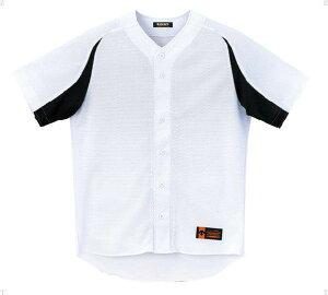 デサント(DESCENTE)ユニフォームシャツカラーコンビネーションSホワイト×ブラック(ds-db43m-swbk) メンズ レディース 野球 ソフトボール 練習用 シャツ 半袖 大きいサイズ 小さいサイズ ドライ