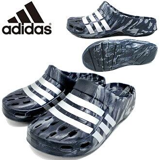 adidasudeyuramokuroggumenzukuroggusandaru adidas Duramo Clog[B22796]阿迪达斯鞋●