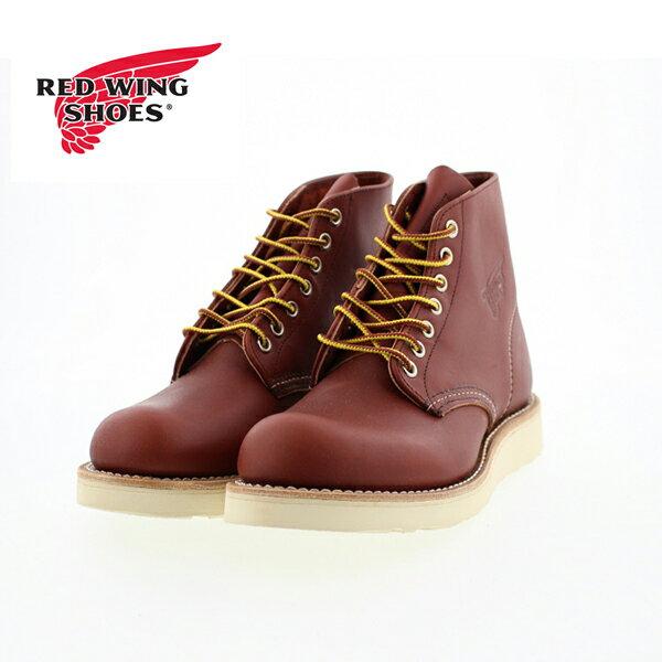 ○【大きいサイズ・メンズ】正規品 RED WING 8166 レッドウィング 6inch ブーツ プレーン 赤茶