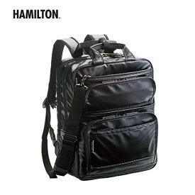 鞄 バッグ メンズバッグ ハミルトン HAMILTON 日本製 made in japan [42530] [横40×縦31×幅14(cm)] 3WAY 男性用 【GG-65lfjn】●