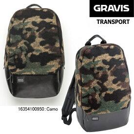 グラビス バッグ バックパック トランスポート GRAVIS TRANSPORT 16354100 バッグ リュック 鞄 かばん グラビス カモフラ柄 迷彩 通学 通学 おしゃれ リュックサック メンズ レディース