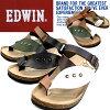 men's sandal for the Edwin sandals men tong sandals EDWIN EW9164 casual sandals man ●