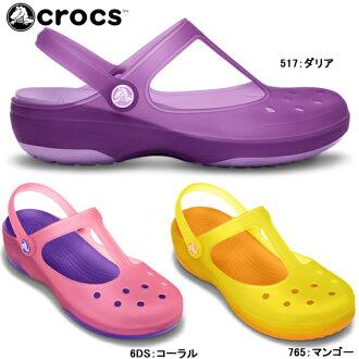 供kurokkusukarimerijienuimenzu crocs carlie mary jane w 11209女子的凉鞋女性使用的轻量kurokkusu women's ●