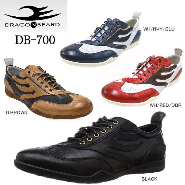 ドラゴンベアード メンズスニーカー DRAGON BEARD DB-700 メンズ カジュアル シューズ ドラゴンベアード 靴 【PDPD-28nhhd】●【あす楽対応】