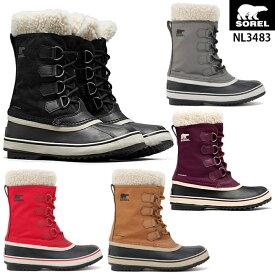ソレル WINTER CARNIVAL ウィンターカーニバル NL3483 レディース スノーブーツ 防寒 ブーツ 雪 靴 防水 滑りにくい 雪道