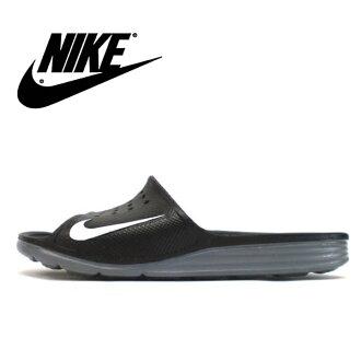 耐克凉鞋人分歧D NIKE SOLARSOFT SLIDE耐克太阳能软件放映装置386163-011体育凉鞋淋浴凉鞋men's ladies sandal ●