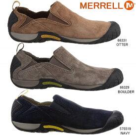 あす楽 送料無料 メレル パスウェイ モック メンズ MERRELL PATHWAY MOC モック シューズ 66331/575519/66329 メンズ靴 男性用 歩きやすい スリッポン シューズ スエード スウェード おしゃれ 靴 25.0cm 25.5cm 26.0cm 26.5cm 27.0cm 27.5cm 28.0cm