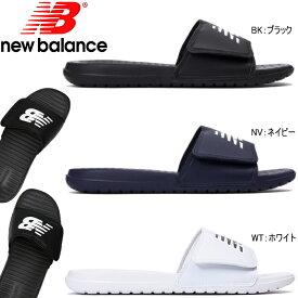ニューバランス スポーツサンダル メンズ レディース New Balance SD230 正規品 シャワーサンダル ニューバランス アウトドア スポーツサンダル ブラック 黒 ネイビー 紺 ホワイト 白 25.0cm