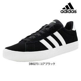 あす楽 送料無料 ADIDAILY 2.0 SUE アディダス adidas DB0273 メンズ ローカット スニーカー シンプルな定番デザイン メンズ靴 男性用 おしゃれ カジュアル ブラック 黒 25.5cm 26.0cm 26.5cm 27.0cm 27.5cm 28.0cm