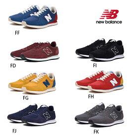 あす楽 送料無料 new balance ニューバランス U220 FF/FG/FH/FI/FJ/FK/FD/ ユニセックス メンズ レディース スニーカー ローカット レースアップシューズ 紐靴 運動靴 ランニング ワイズD カジュアル 人気 男女兼用 男性 女性 黒 おしゃれ かわいい