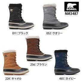 あす楽 送料無料 ソレル 1964 Pac Nylon 1964 パックナイロン NM3487 メンズ スノーブーツ 防寒 ブーツ 雪 靴 メンズ 防水 滑りにくい 雪道