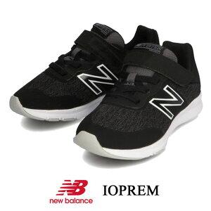 ニューバランス new balance PREMUS I IOPREM ベビー キッズ ジュニア スニーカー ランニングシューズ ベルクロマジック 子供靴 ブラック ギフト プレゼント IOPREM-CK